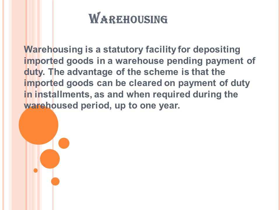SECTION 57.A PPOINTING OF PUBLIC WAREHOUSES.