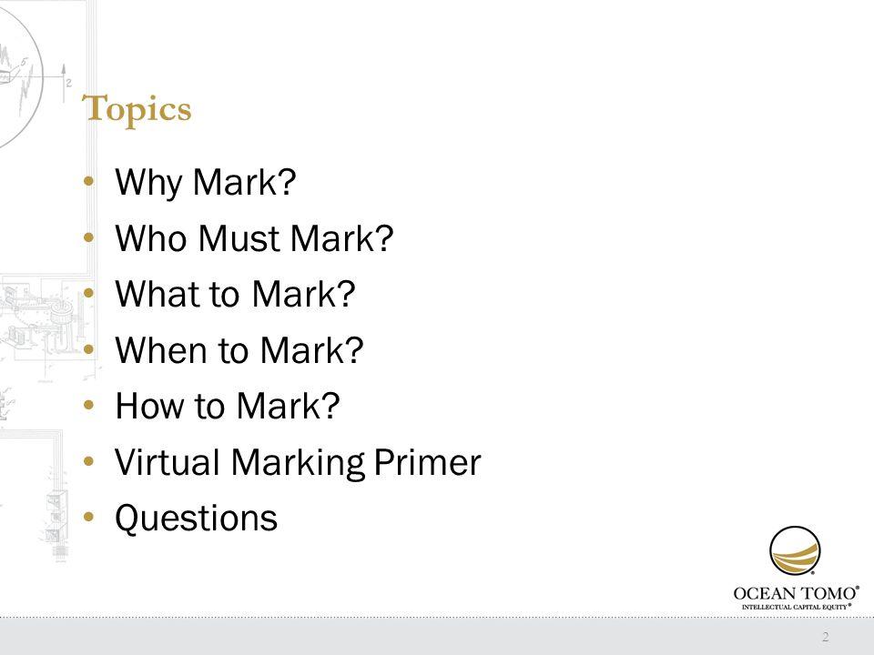 Why Mark.35 U.S.C.