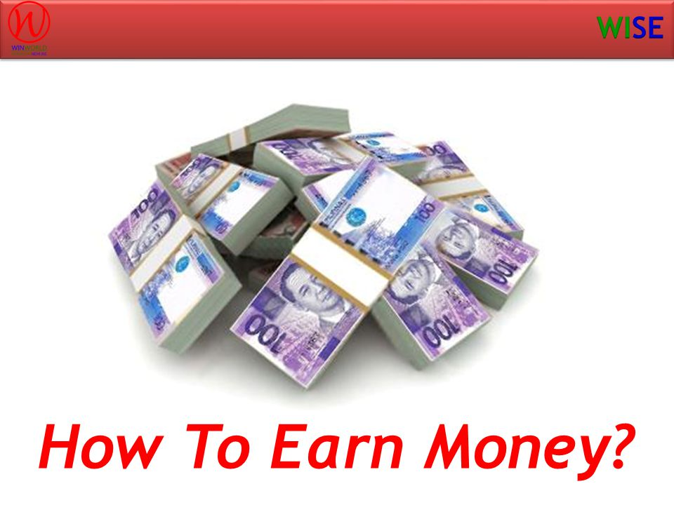 How To Earn Money?