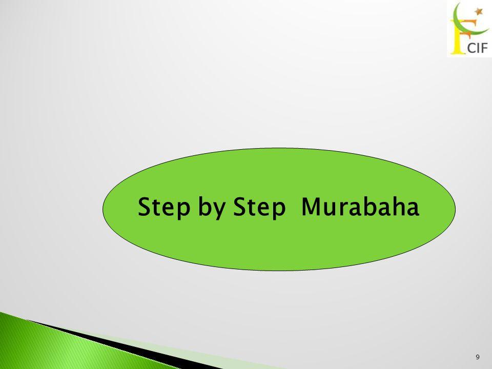 9 Step by Step Murabaha