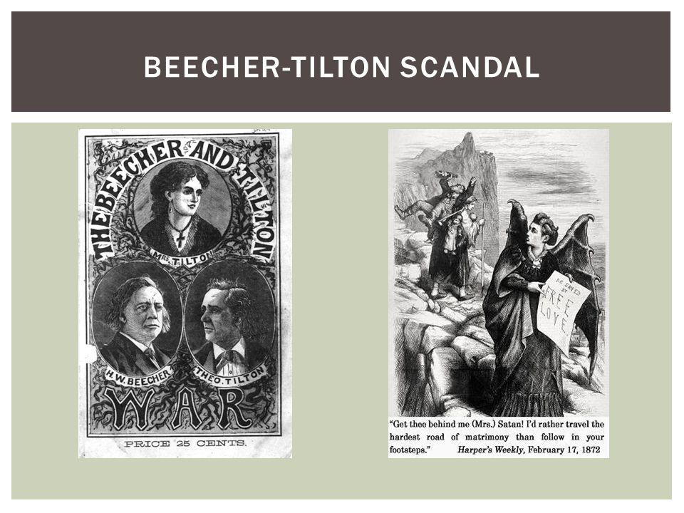 BEECHER-TILTON SCANDAL
