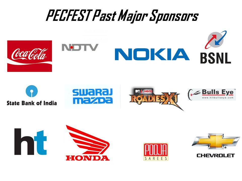 PECFEST Past Major Sponsors