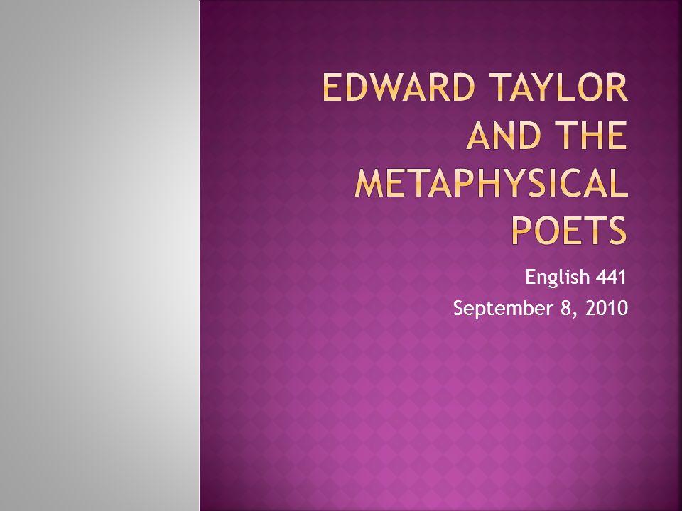 English 441 September 8, 2010