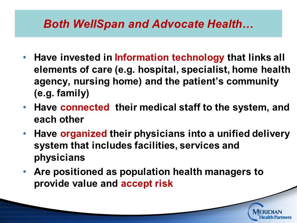 Possible Employee pilot: Inner Circle Network Meridian Health (2014) Partners, Inc.