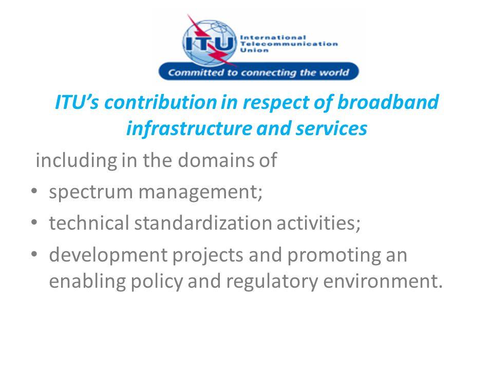 ARO 2012 Broadband planned Activities Workshop on New Trends for building and Financing Broadband: Policies & Economies.