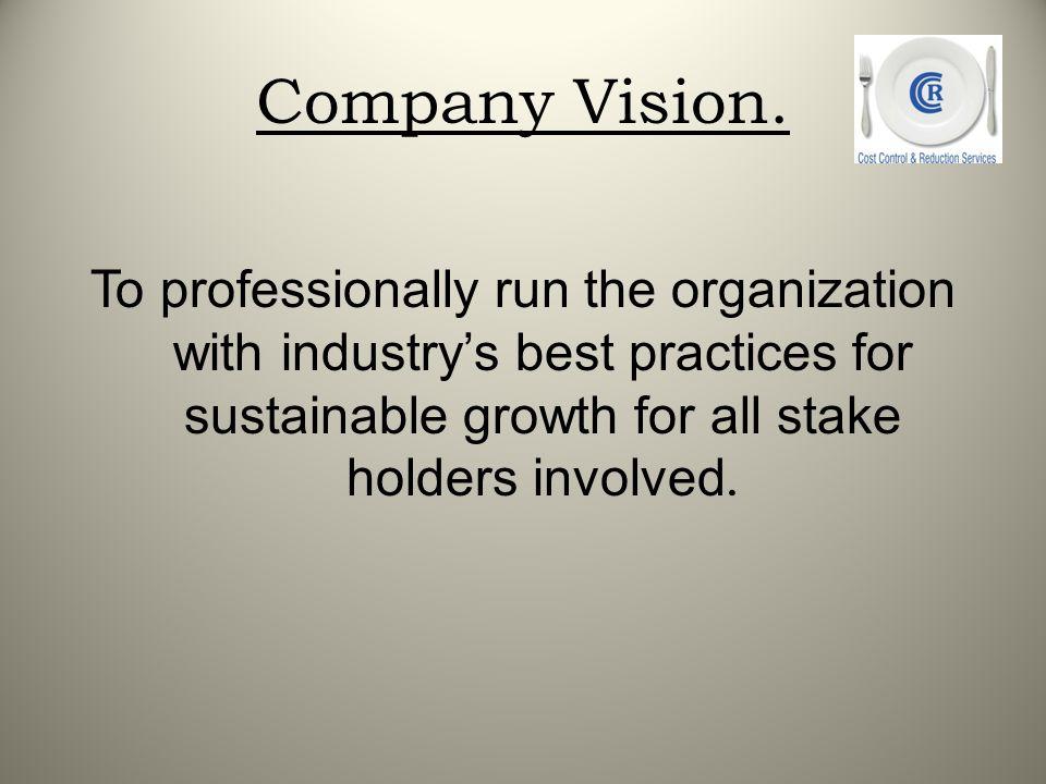 Company Vision.