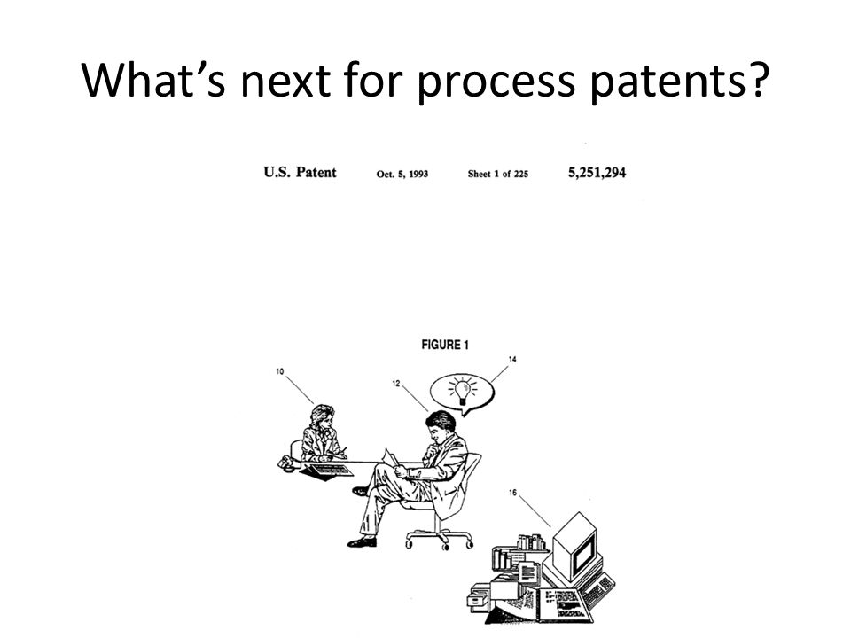What's next for process patents?