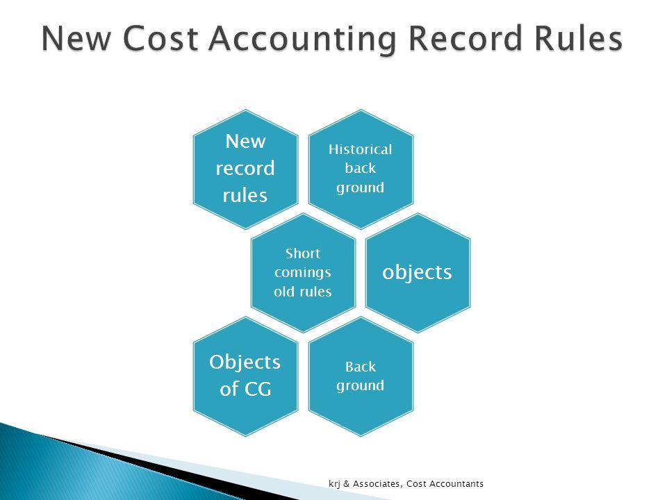 WELCOMES krj & Associates, Cost Accountants