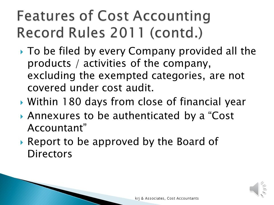  Form B prescribed by Government under these rules duly certified by a Cost Accountant, along with the Annexure to be submitted to Central Government.