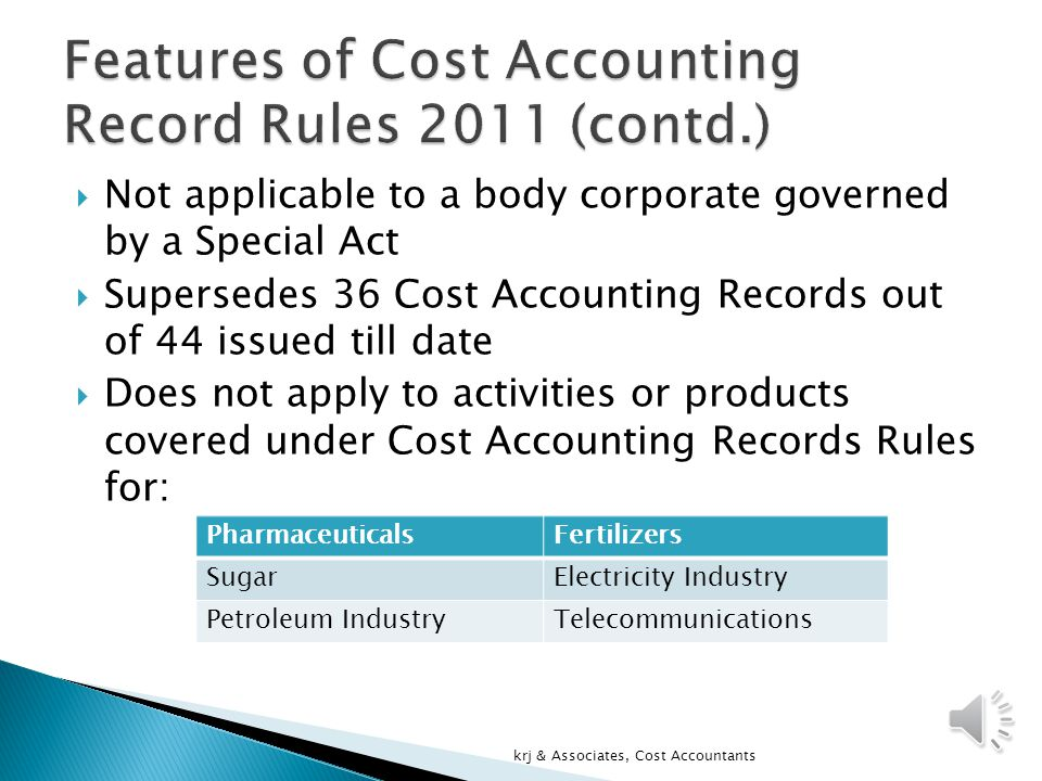  To be filed by every Company provided all the products / activities of the company, excluding the exempted categories, are not covered under cost audit.