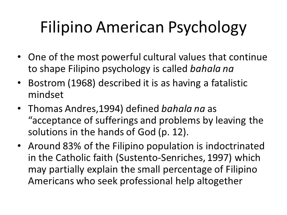 Utang na loob The next noteworthy Filipino value is utang na loob which is defined as a debt of gratitude (Salazar, 1981, 1985b) or the principle of reciprocity incurred when an individual helps another (Kaut, 1961).