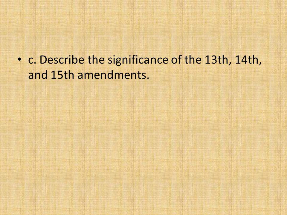 13th Amendment Section 1.