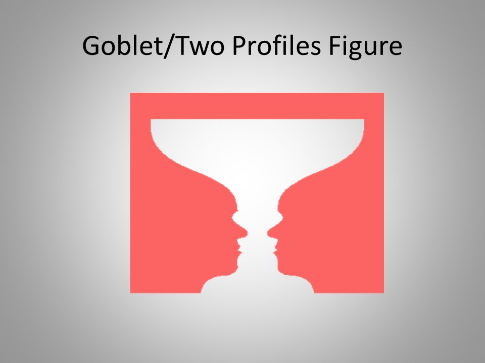 Goblet/Two Profiles Figure