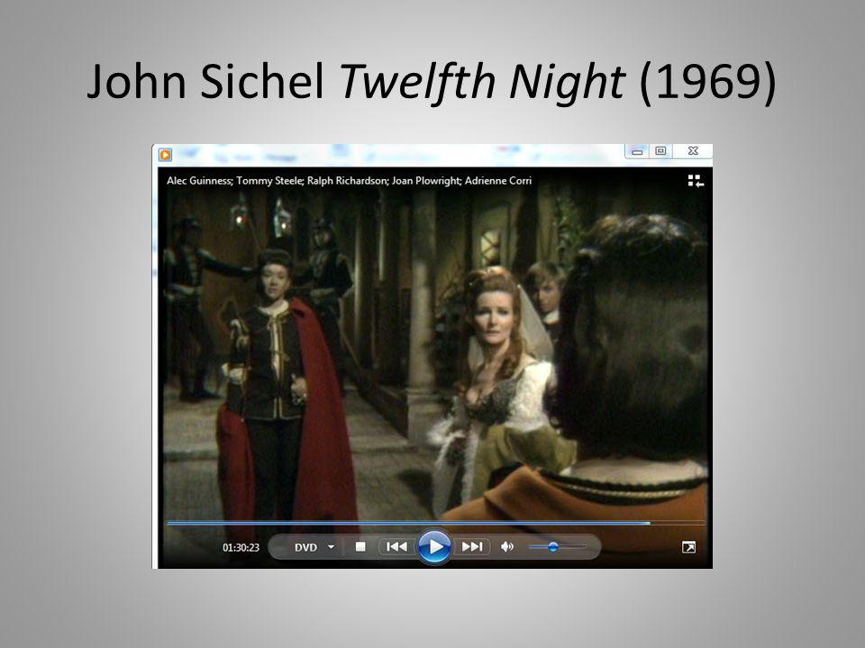 John Sichel Twelfth Night (1969)