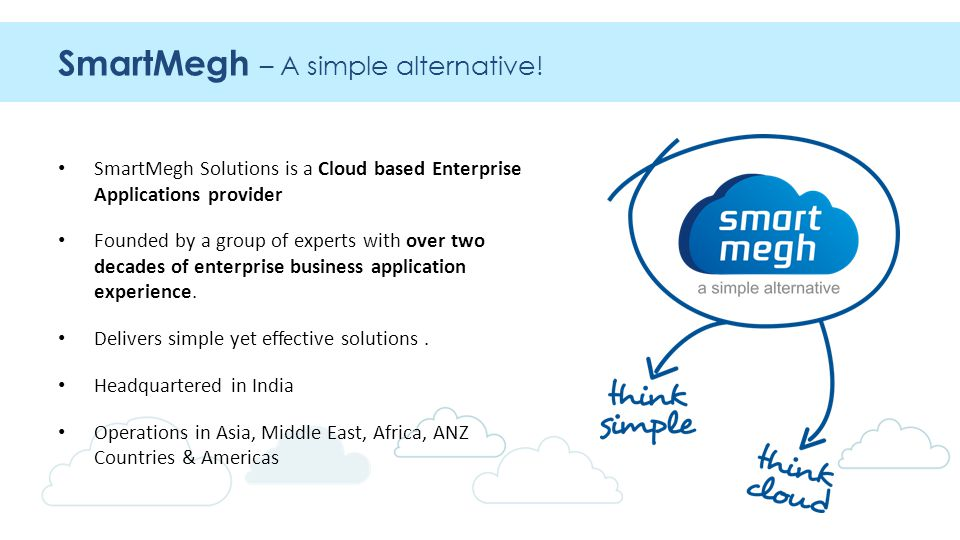 SmartMegh – A simple alternative.