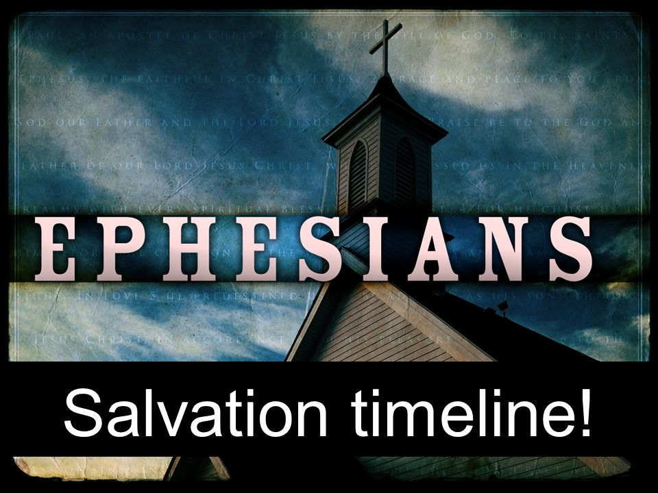 Salvation timeline!