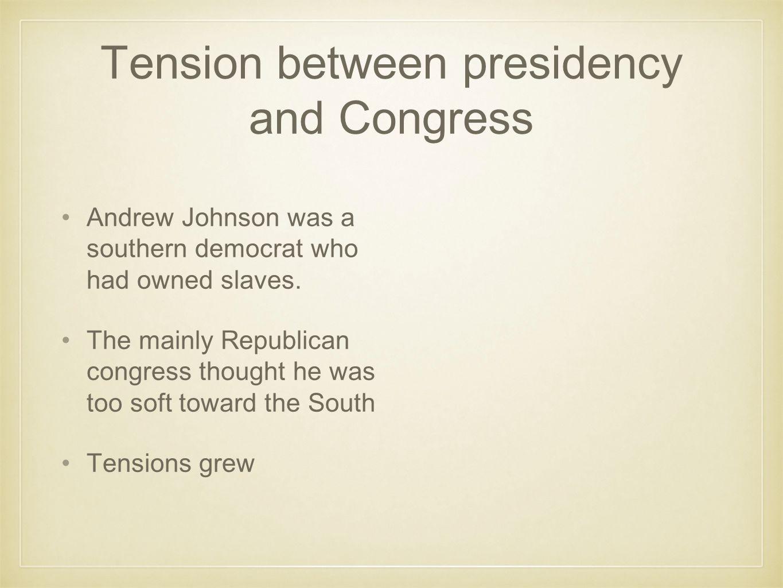Thaddeus Stevens Important republican leader in Congress.