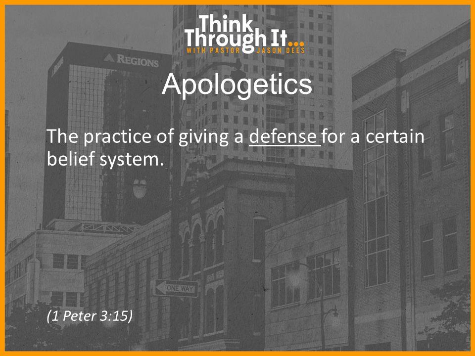 Types of Apologetics Classic Apologetics Reason your way to God.
