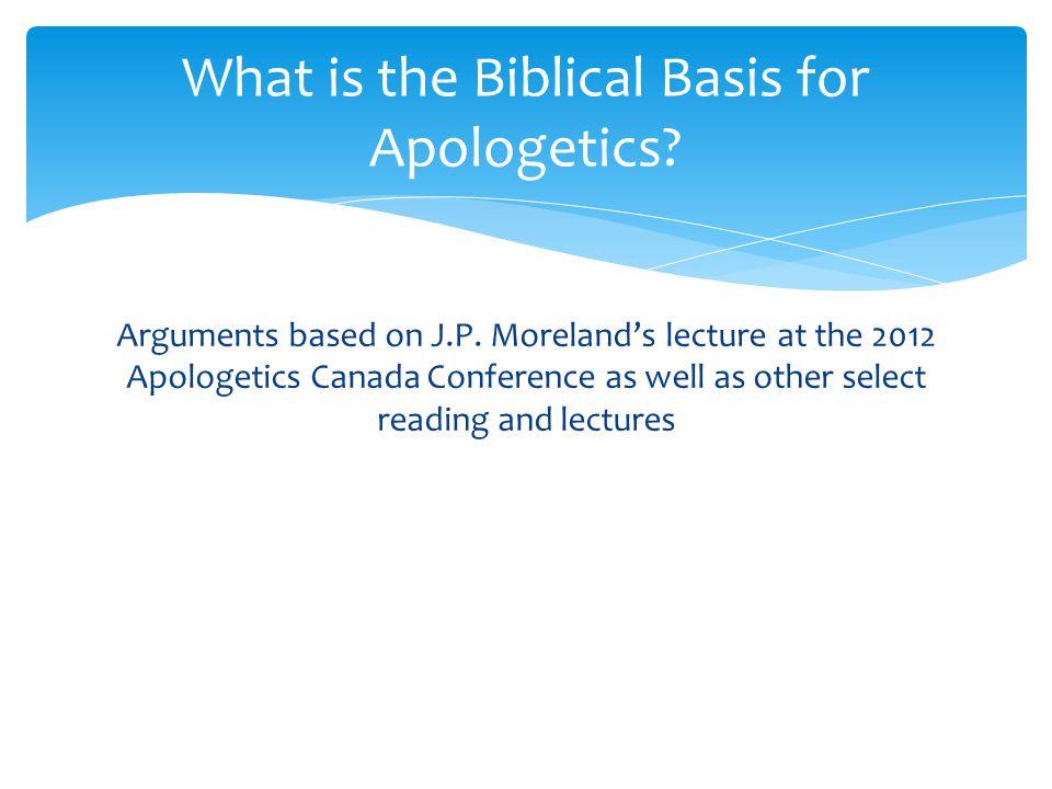 Arguments based on J.P.