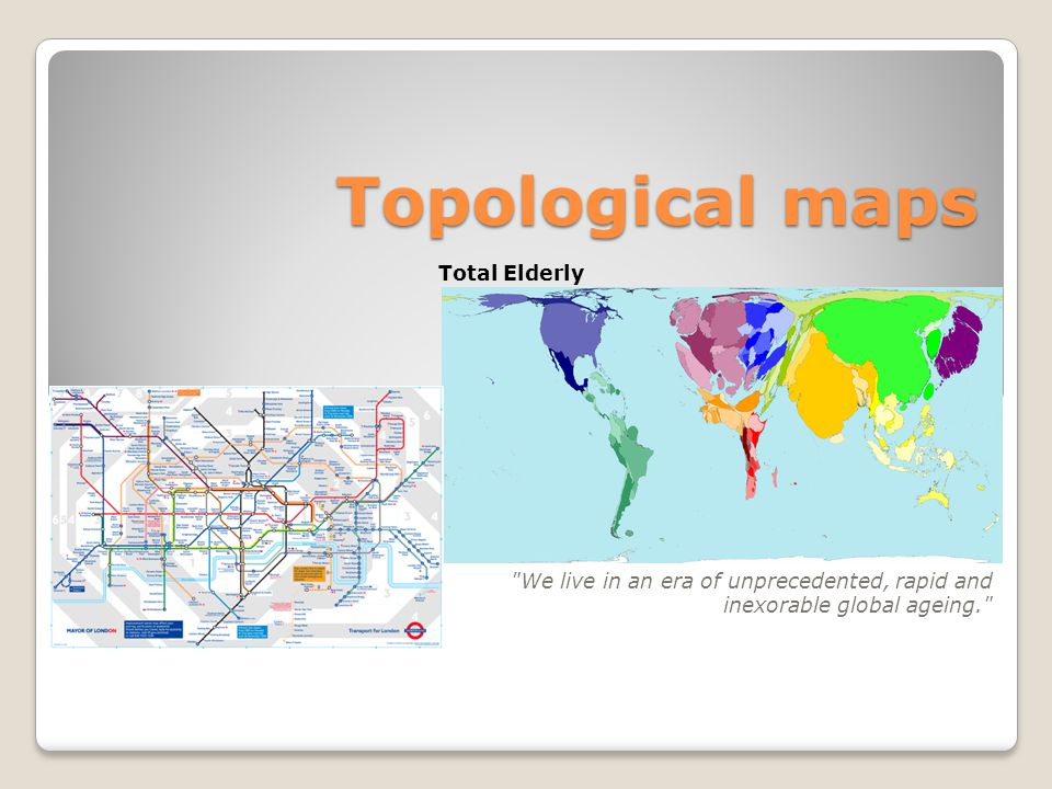Topological maps