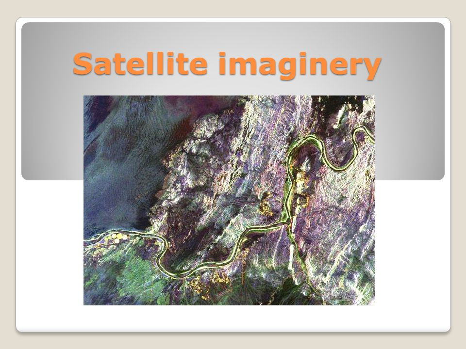 Satellite imaginery