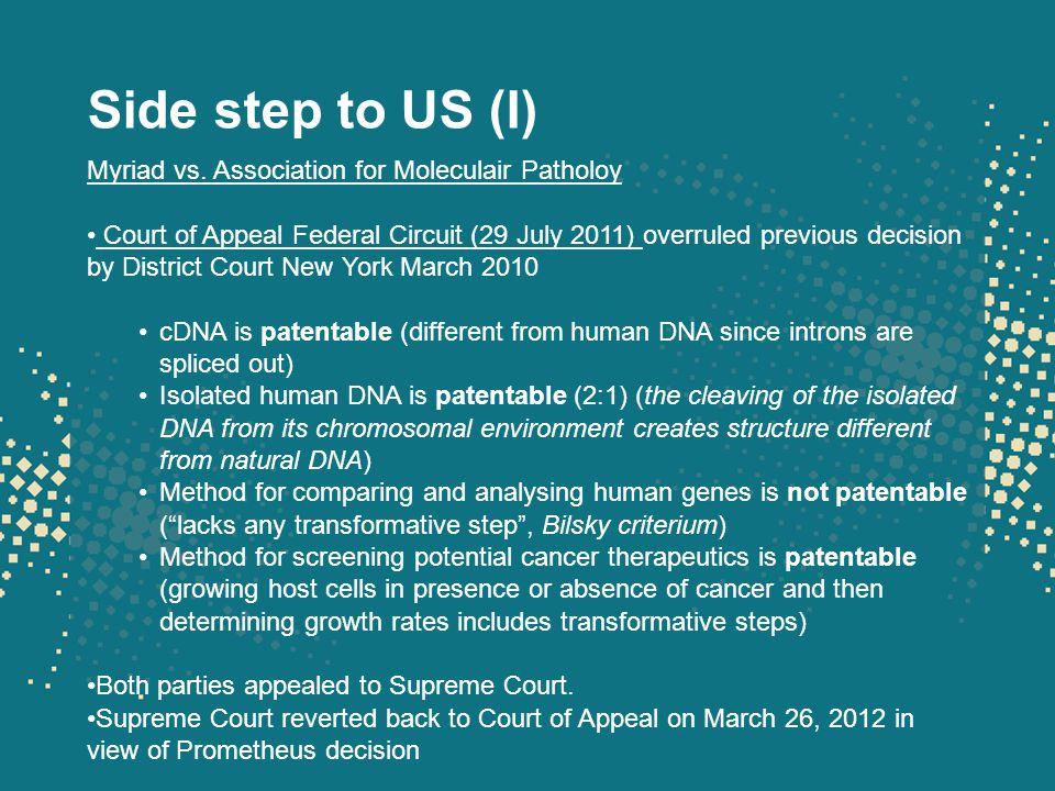 Side step to US (II) Prometheus vs.