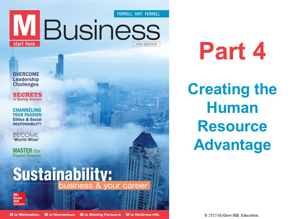 CHAPTER 9 Motivating the Workforce CHAPTER 10 Managing Human Resources 10-2