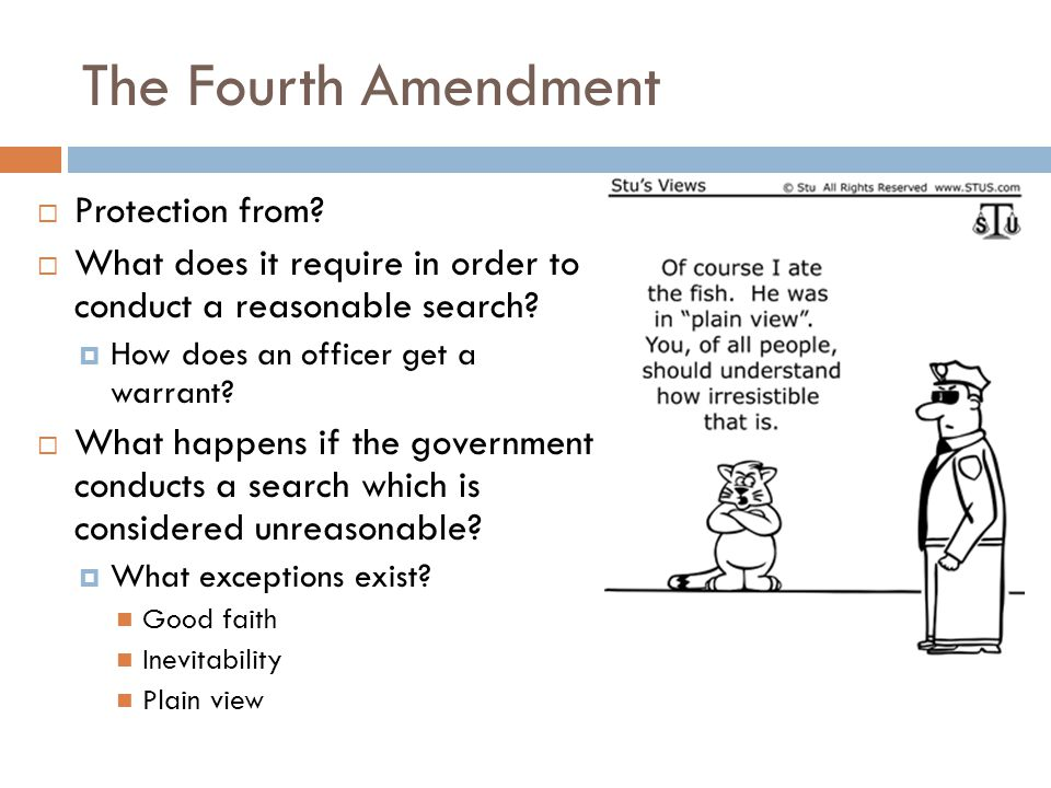 The 5 th, 6 th, 7 th and 8 th amendments all offer protections for citizens from government  No person shall be held to answer for a capital…crime, … unless on …indictment of a Grand Jury, … nor shall any person be subject for the same offence to be twice put in jeopardy … ; nor shall be compelled in any criminal case to be a witness against himself, nor be deprived of life, liberty, or property, without due process of law; nor shall private property be taken for public use, without just compensation.