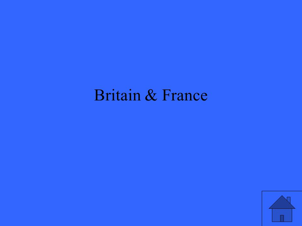 Britain & France