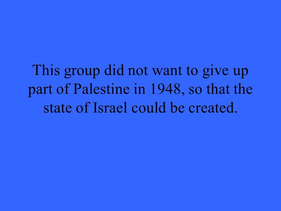 Al-Qaeda is a group of radical Muslims.