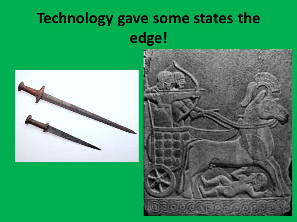 Technology gave some states the edge!