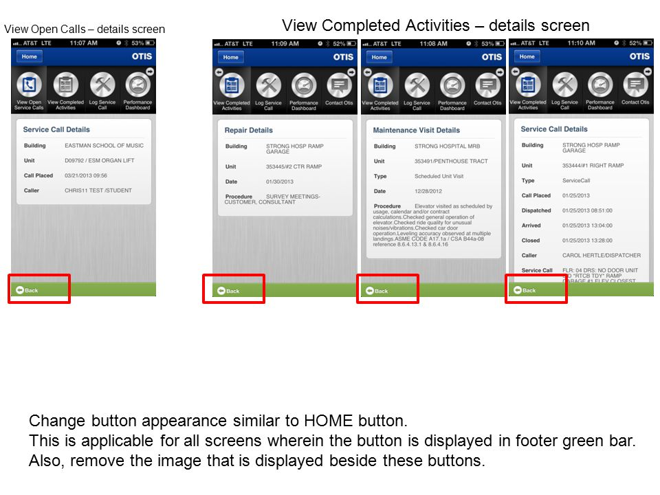 Change selected button appearance – Change the dark grey background of selected button to green color.