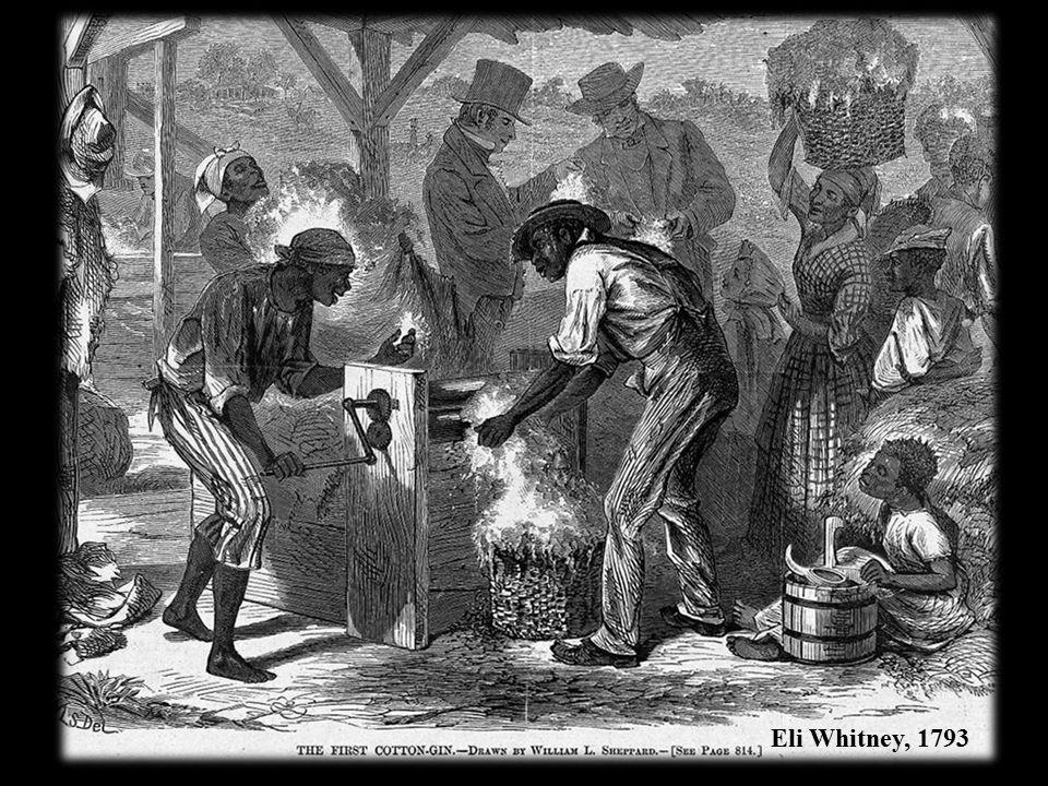 Eli Whitney, 1793