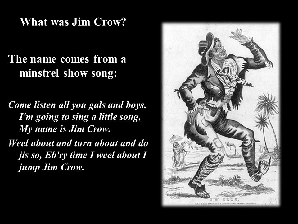 What was Jim Crow.