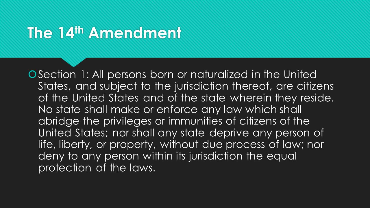 By yourself  Silently and independently summarize the amendment in your own words below the text.