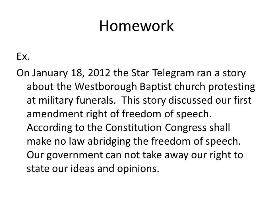Homework Ex.