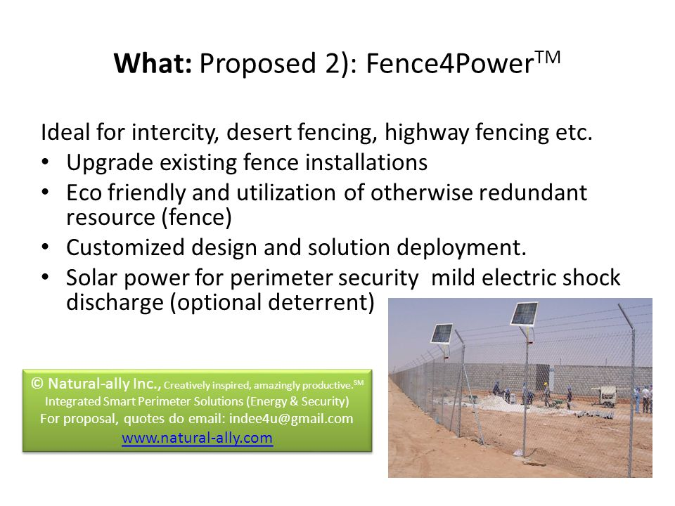 Ideal for intercity, desert fencing, highway fencing etc.