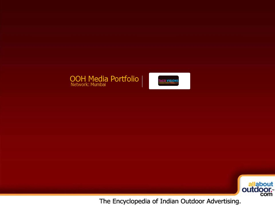OOH Media Portfolio Network: Mumbai