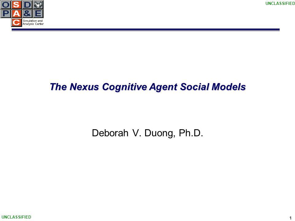 UNCLASSIFIED 12 Review of Nexus' Algorithms