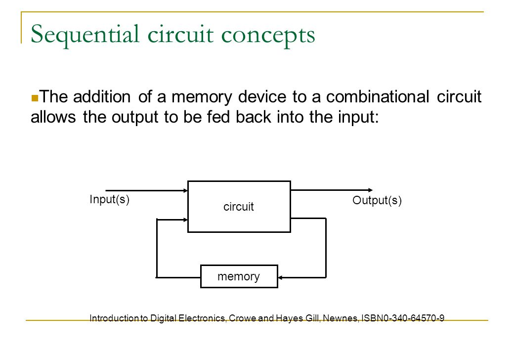 Summary Flip flops are circuits controlled by a clock.