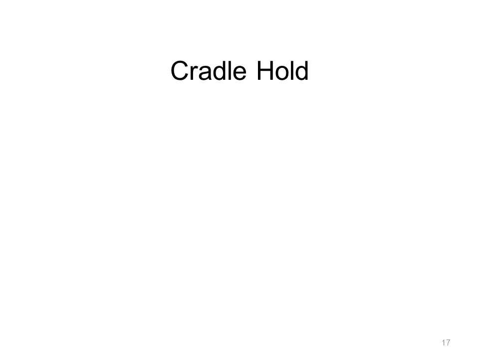 Cradle Hold 17