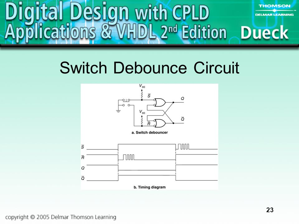 23 Switch Debounce Circuit