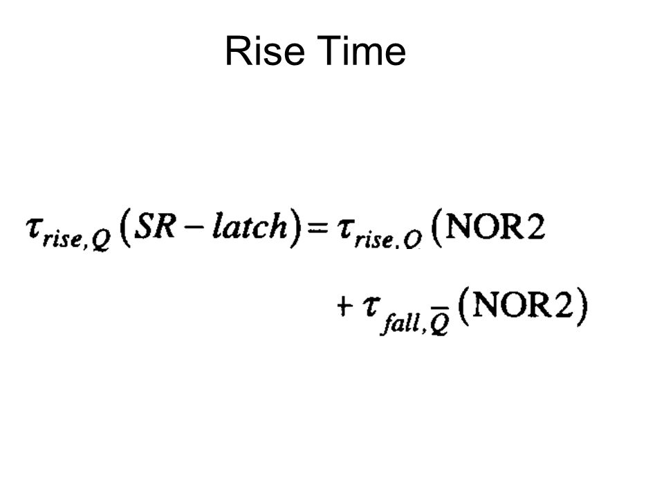 Rise Time