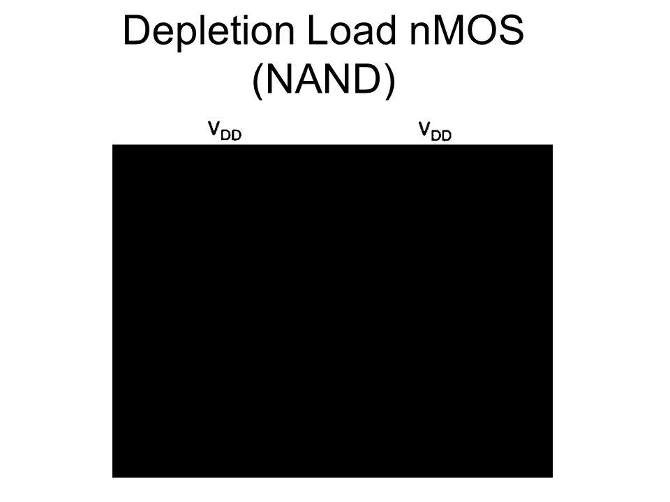 Depletion Load nMOS (NAND)