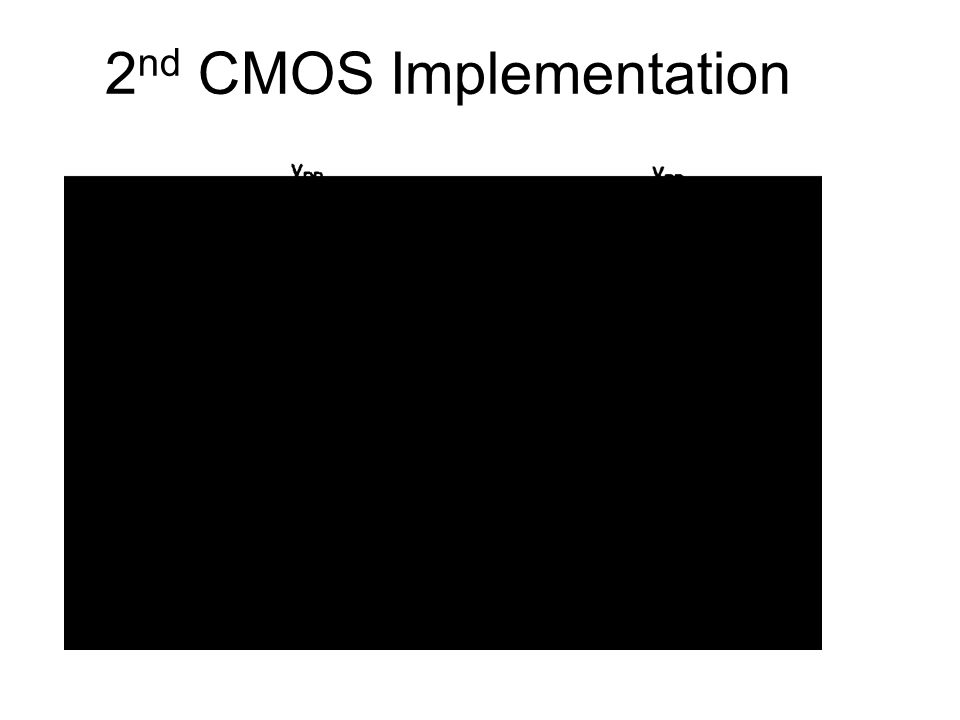 2 nd CMOS Implementation