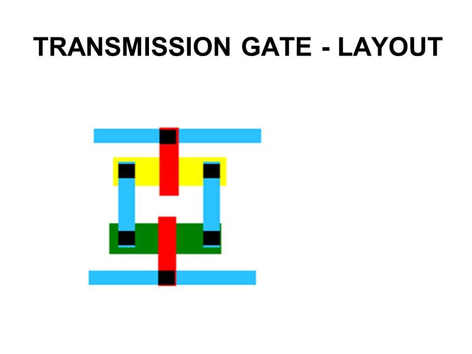 TRANSMISSION GATE - LAYOUT