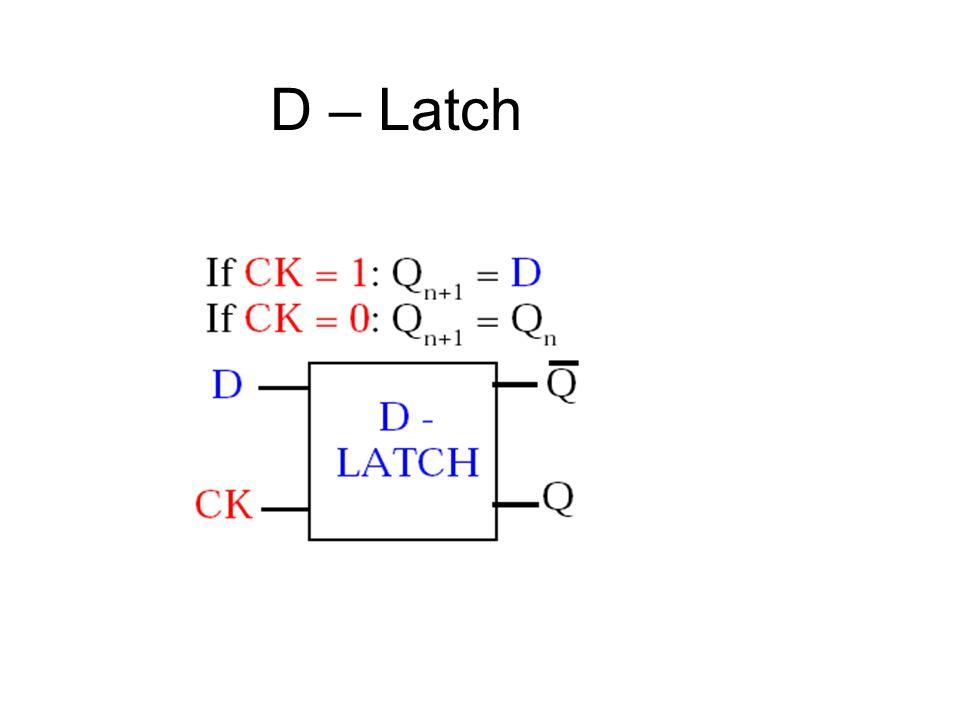 D – Latch