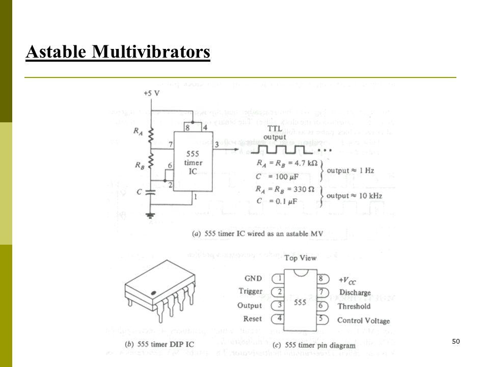 50 Astable Multivibrators