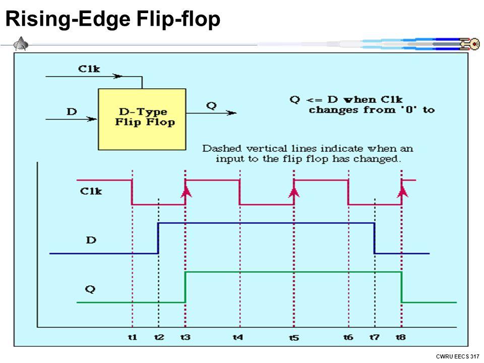 CWRU EECS 317 Rising-Edge Flip-flop