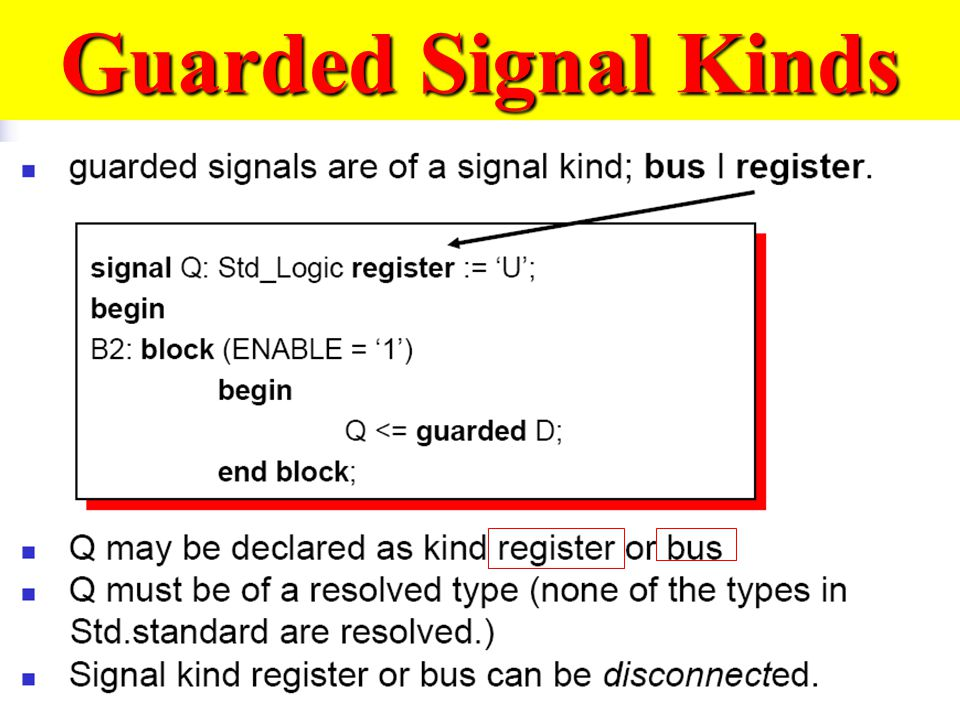 Guarded Signal Kinds